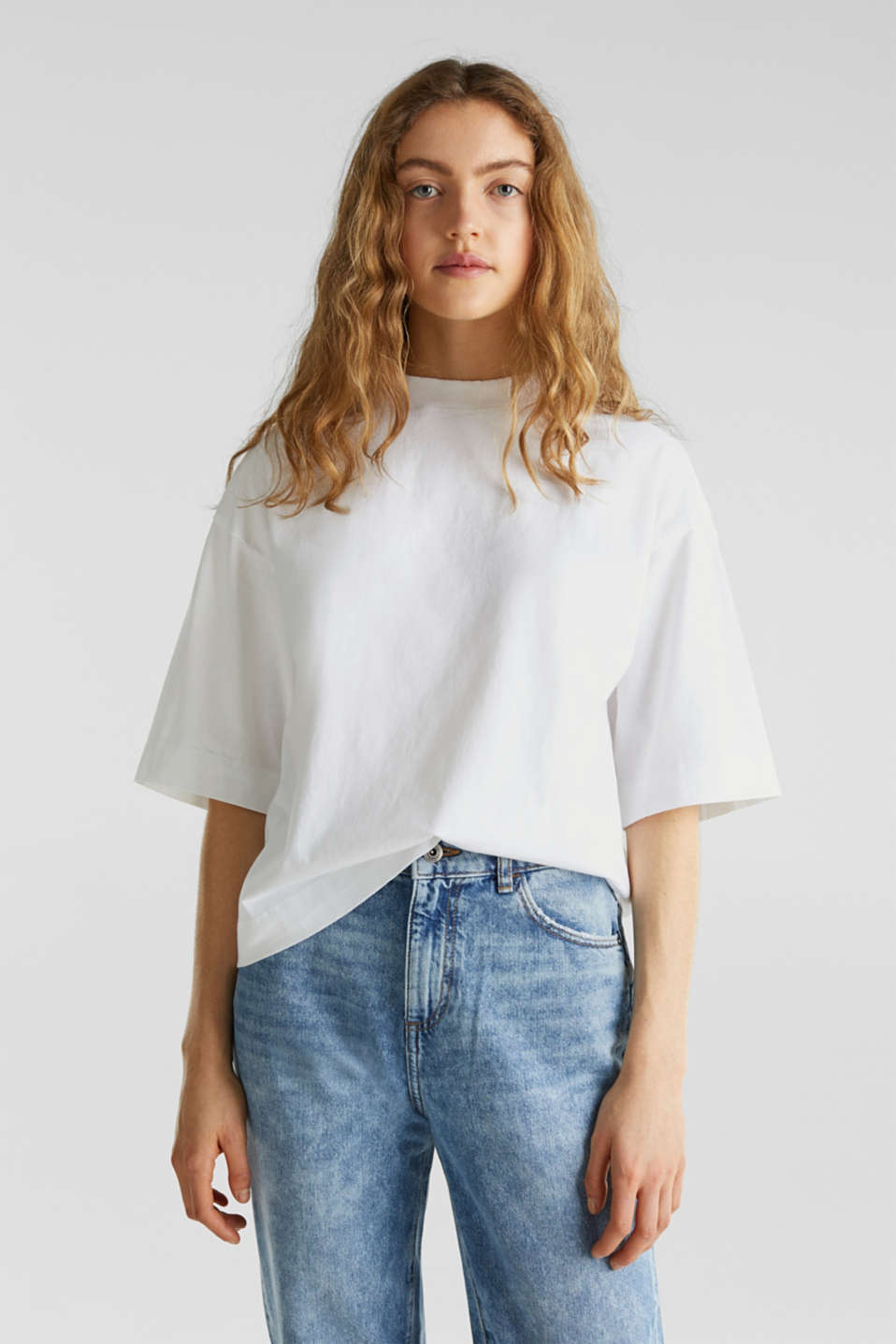 edc - Loose T-shirt in 100% cotton