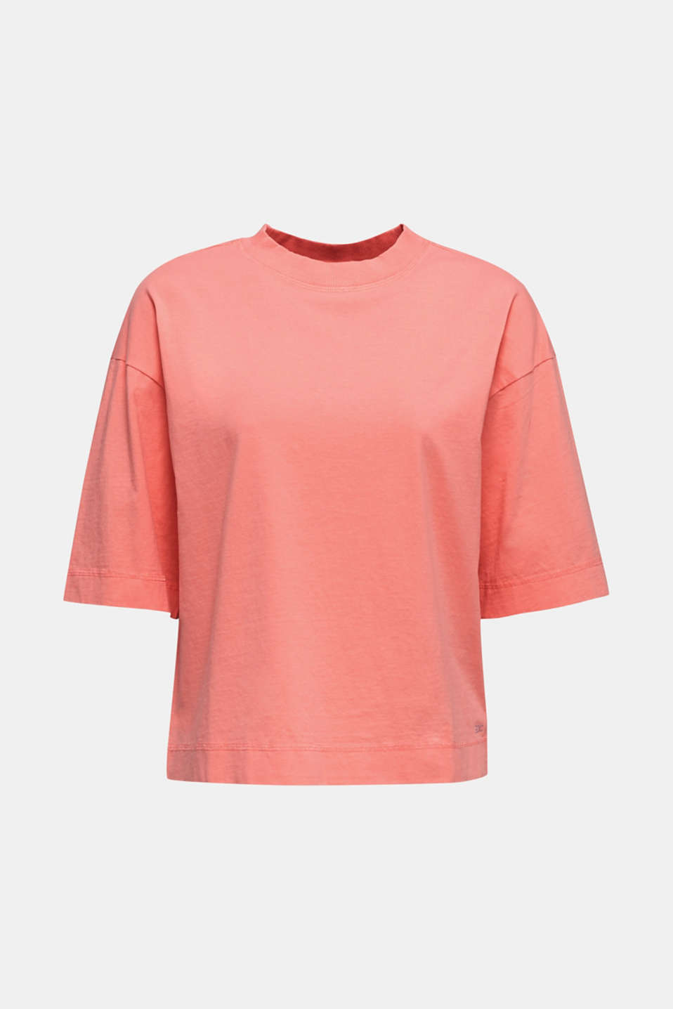 Loose T-shirt in 100% cotton, CORAL 3, detail image number 6