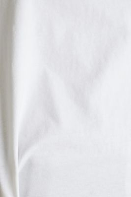 Loose T-shirt in 100% cotton, WHITE, detail