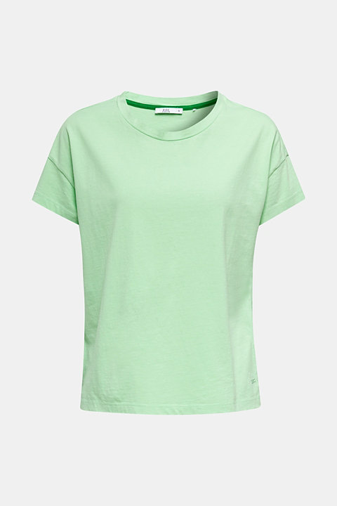 Loose T-shirt in 100% cotton