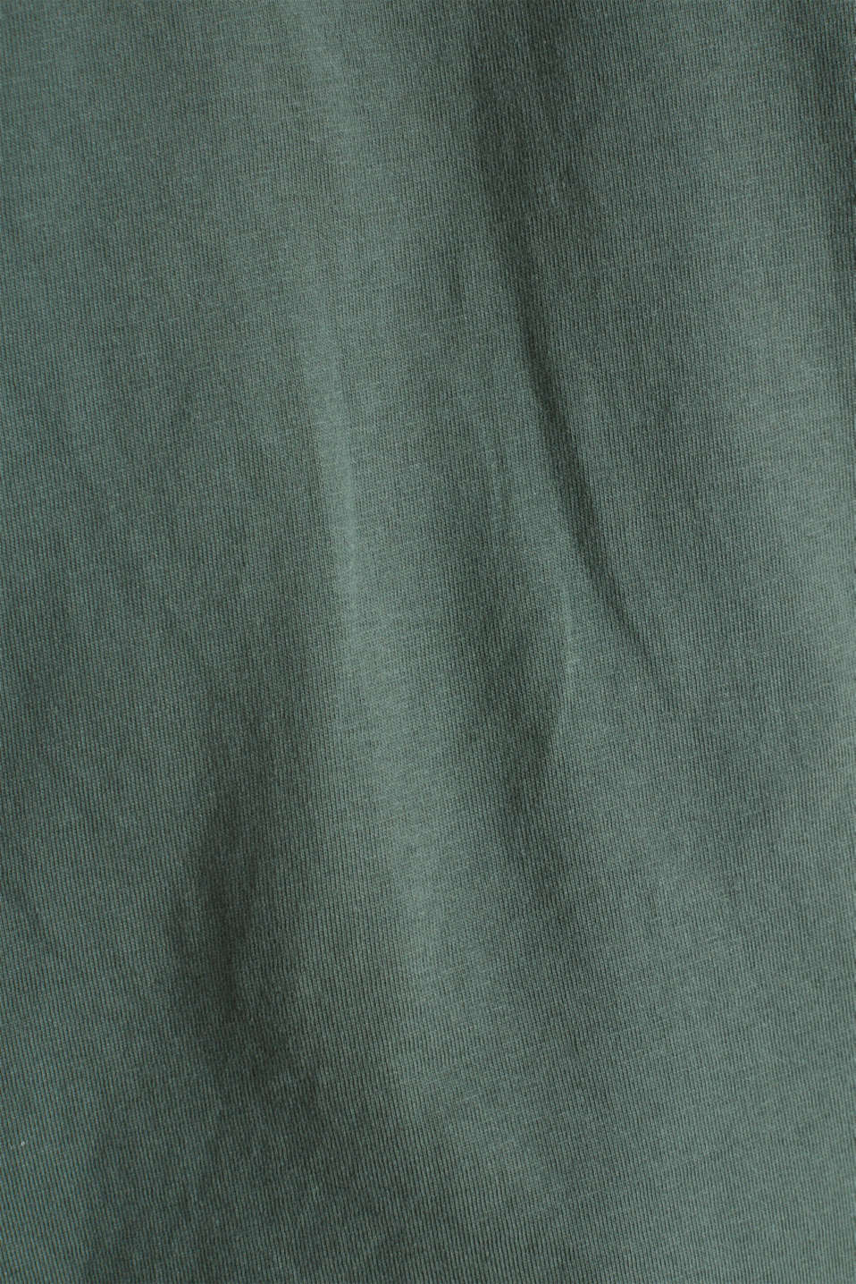 Loose T-shirt in 100% cotton, KHAKI GREEN 4, detail image number 3