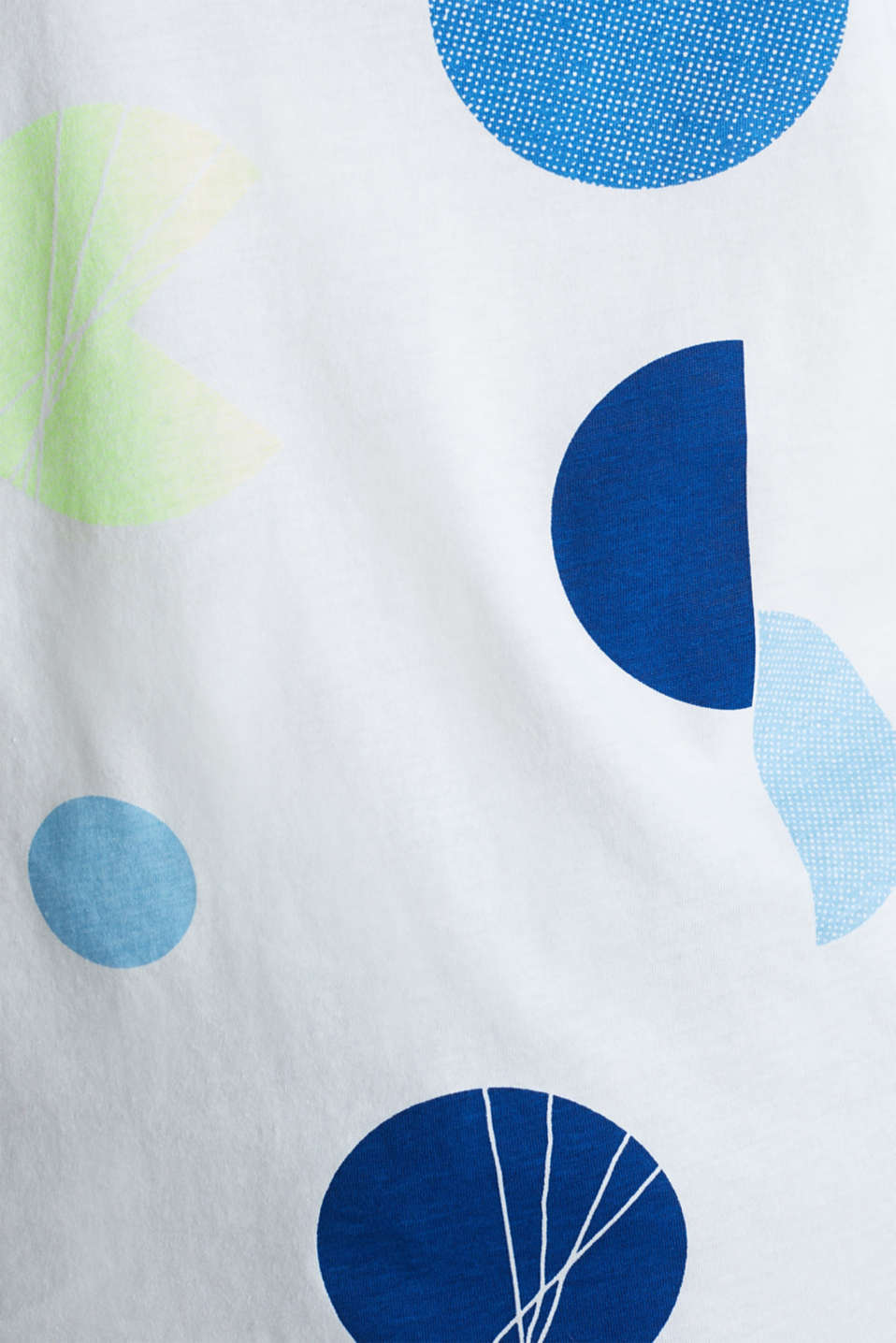 T-shirt with a graphic print, 100% cotton, OFF WHITE, detail image number 4
