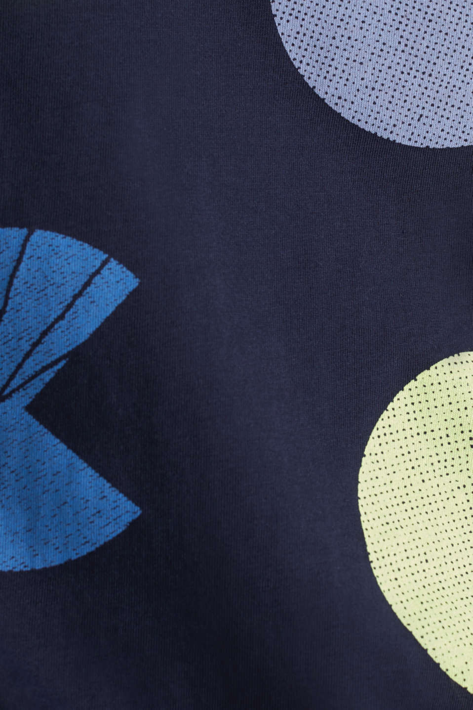 T-shirt with a graphic print, 100% cotton, NAVY, detail image number 4