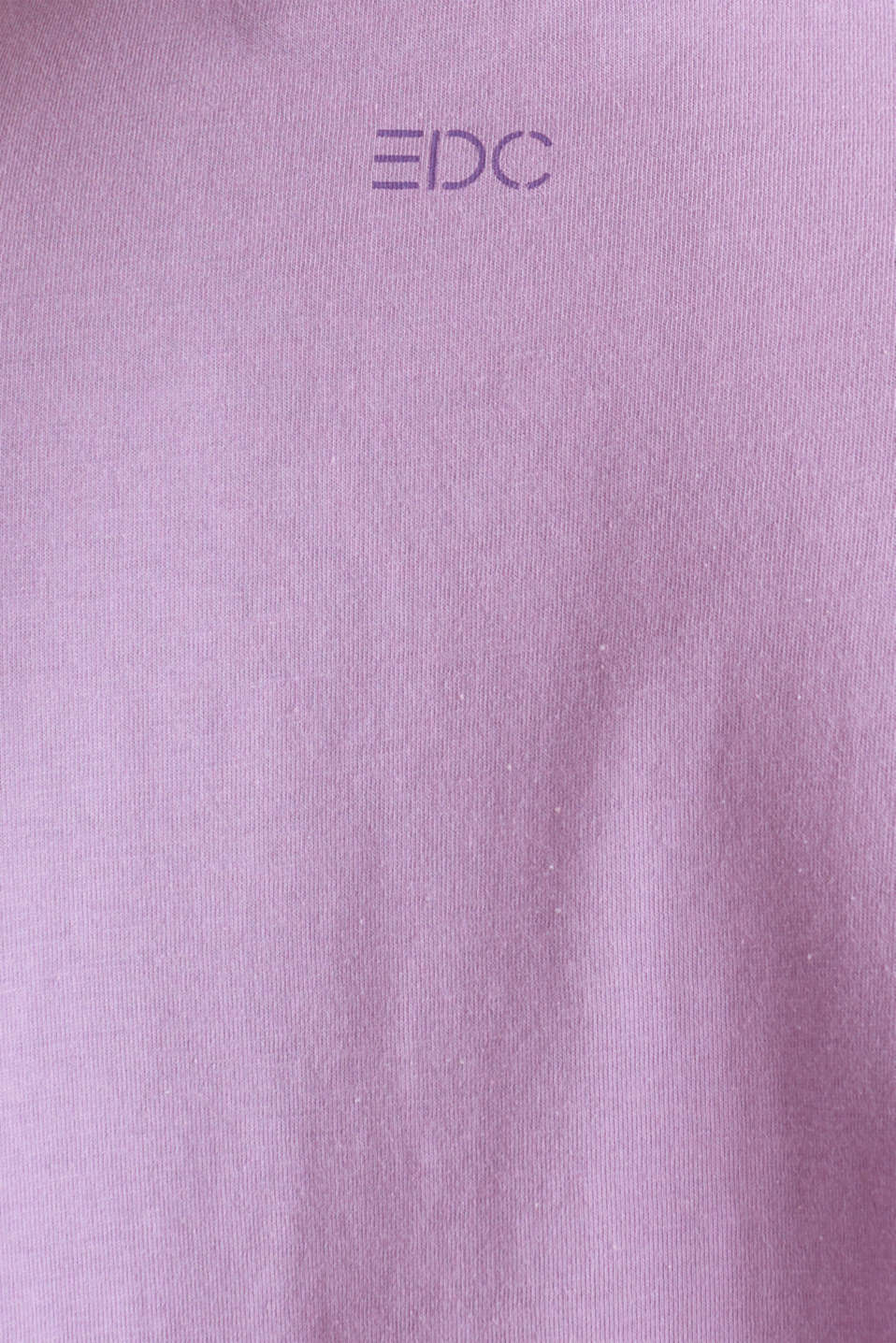 Print T-shirt with organic cotton, LILAC, detail image number 4