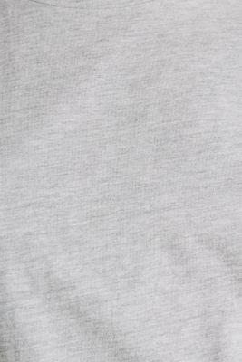 Melange jersey T-shirt, LIGHT GREY 5, detail