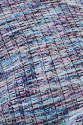Melange, multi-coloured long sleeve top, BLUE LAVENDER, detail