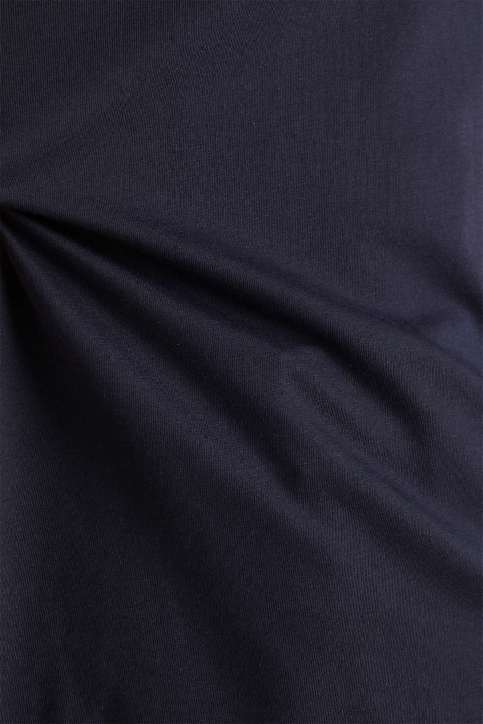 100% cotton top with multi-coloured borders, NAVY, detail image number 2