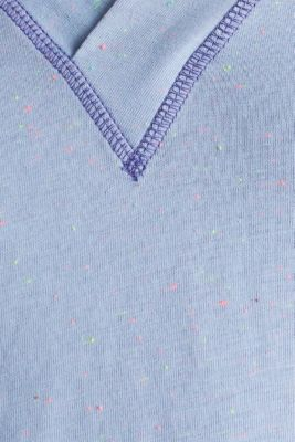 V-neck T-shirt, GREY BLUE, detail