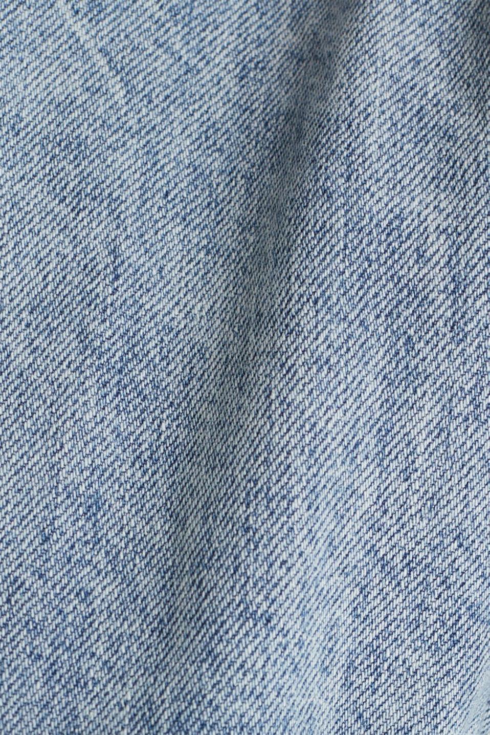 Boiler suit made of denim, BLUE LIGHT WASH, detail image number 4