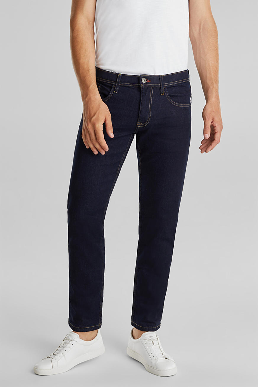 Basic-Jeans mit Stretch