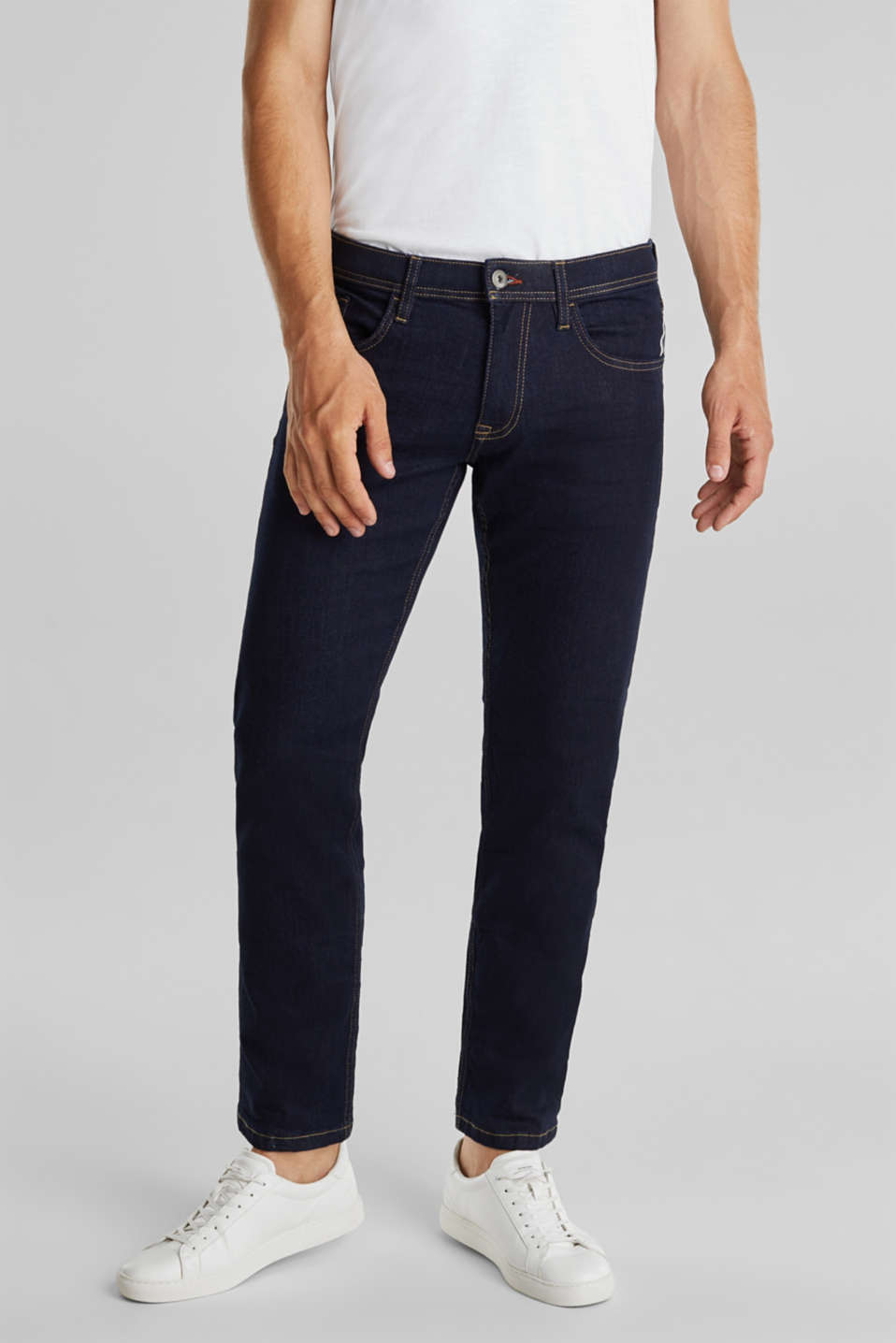 edc - Basic-Jeans mit Stretch