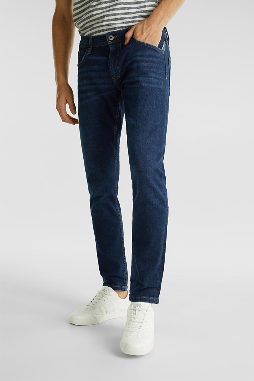 Stretch-Jeans im Basic-Look
