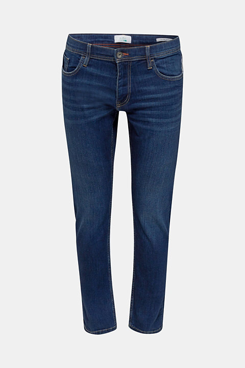 Stretch jeans in a basic design