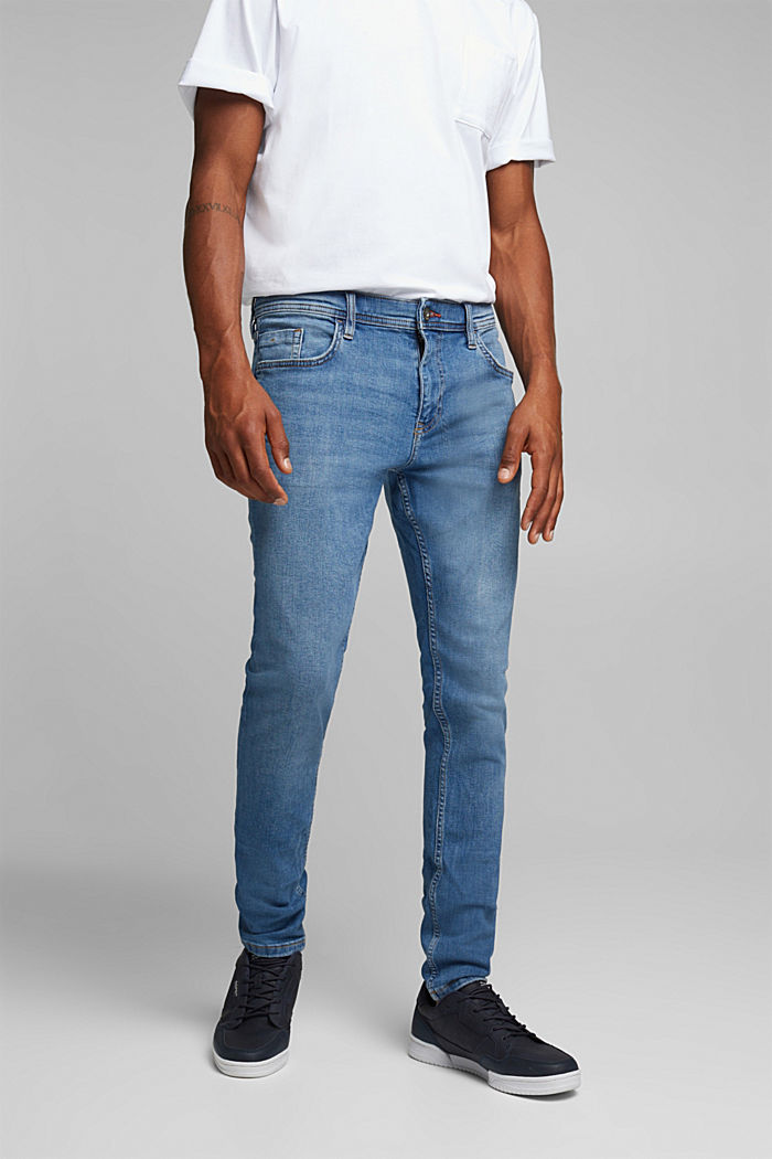 Stretch-Jeans im Basic-Look