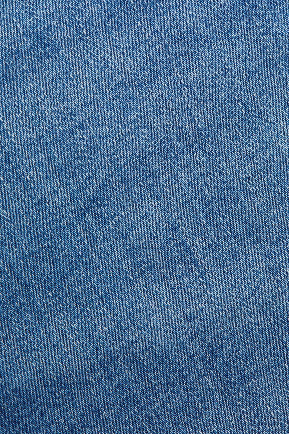 Stretch jeans in a basic design, BLUE LIGHT WASH, detail image number 4