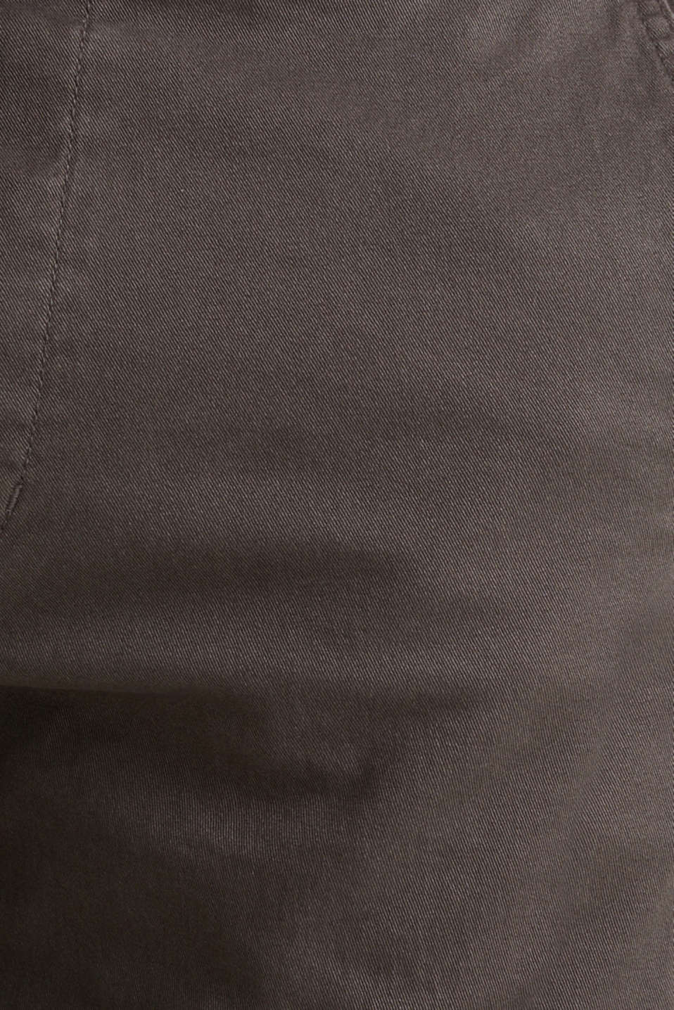 Twill tracksuit bottoms, ANTHRACITE, detail image number 4