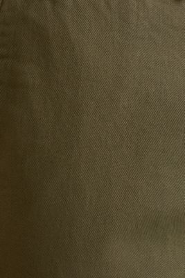 Twill tracksuit bottoms, OLIVE, detail