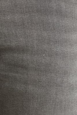 Distressed stretch jeans, GREY MEDIUM WASH, detail