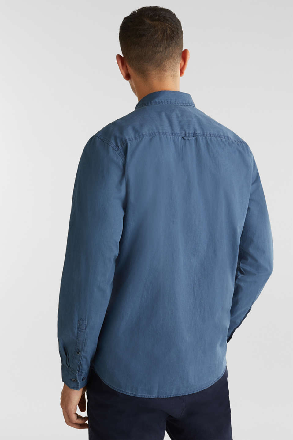 100% cotton shirt, DARK BLUE 2, detail image number 3