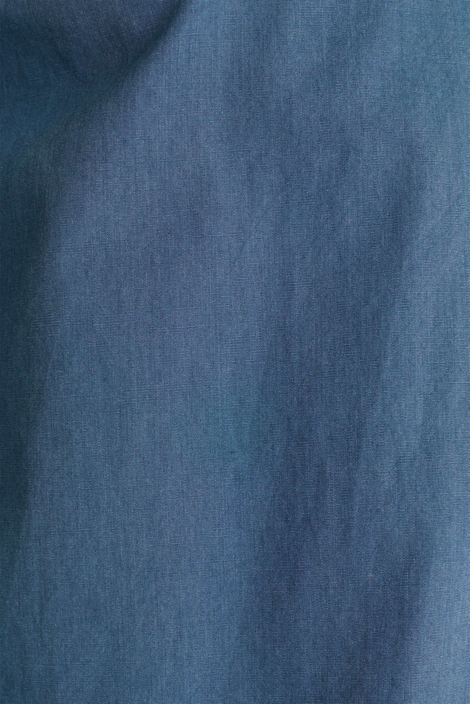 100% cotton shirt, DARK BLUE 2, detail image number 4