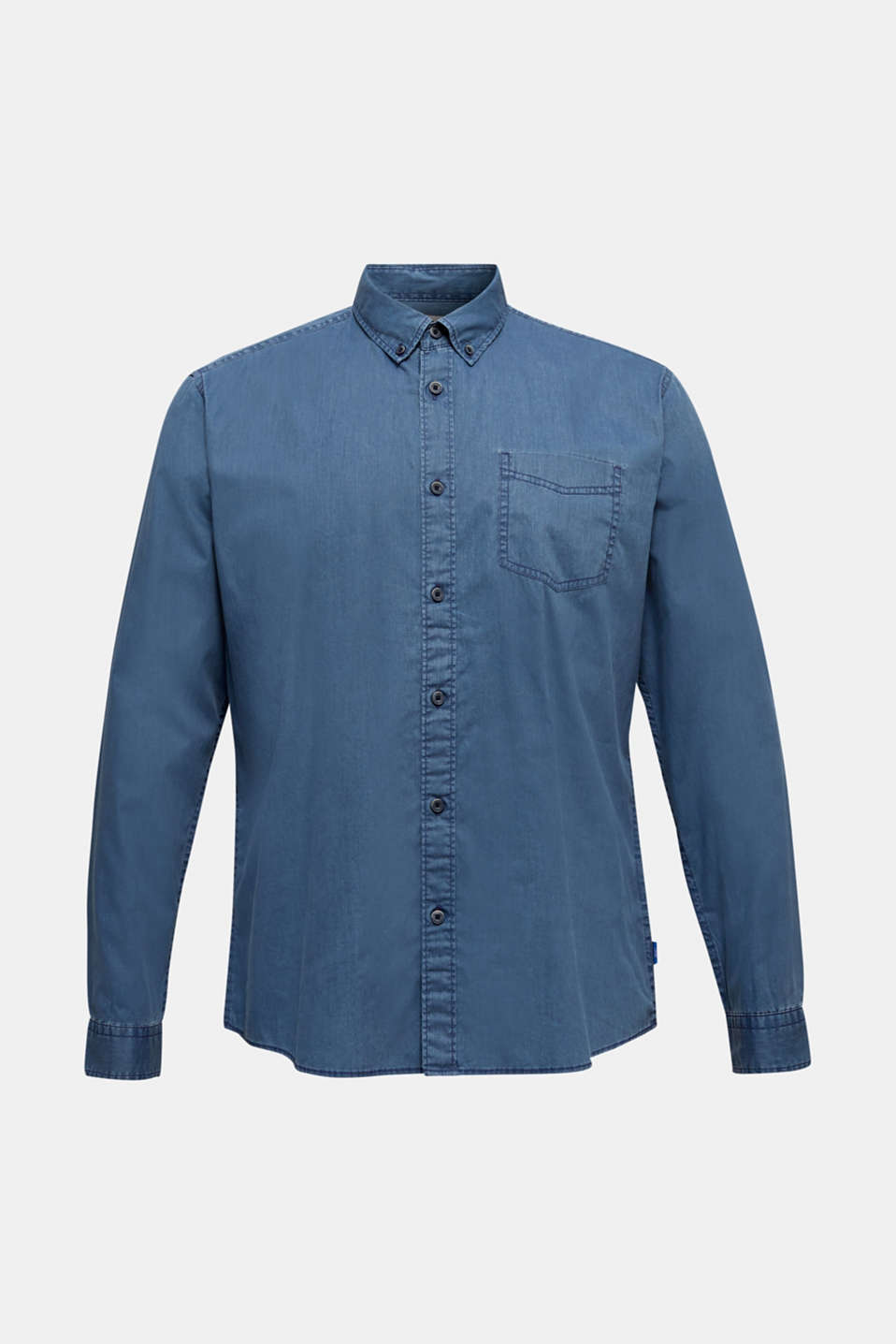100% cotton shirt, DARK BLUE 2, detail image number 6