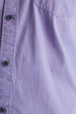 100% cotton shirt, PURPLE 2, detail