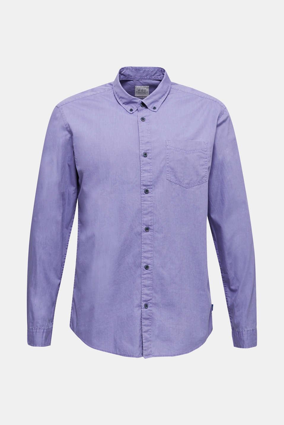 100% cotton shirt, PURPLE 2, detail image number 7