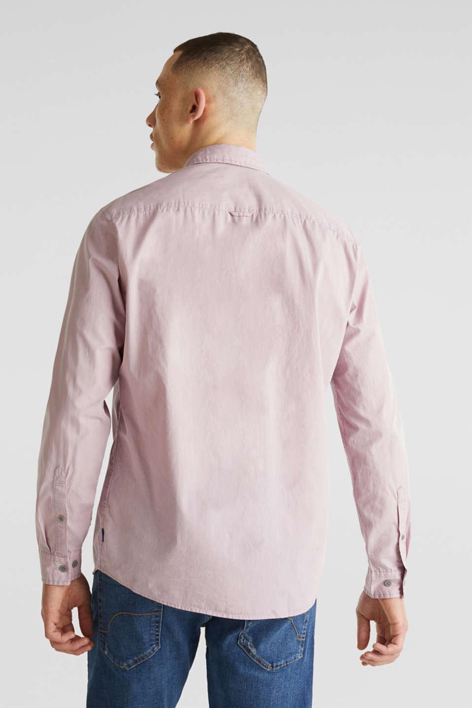 100% cotton shirt, PURPLE 3, detail image number 3