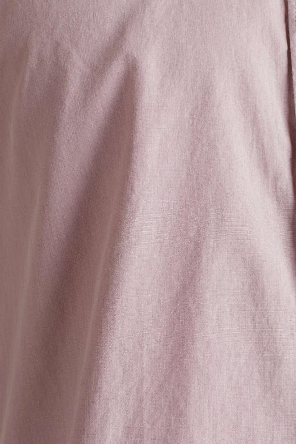 100% cotton shirt, PURPLE 3, detail image number 4