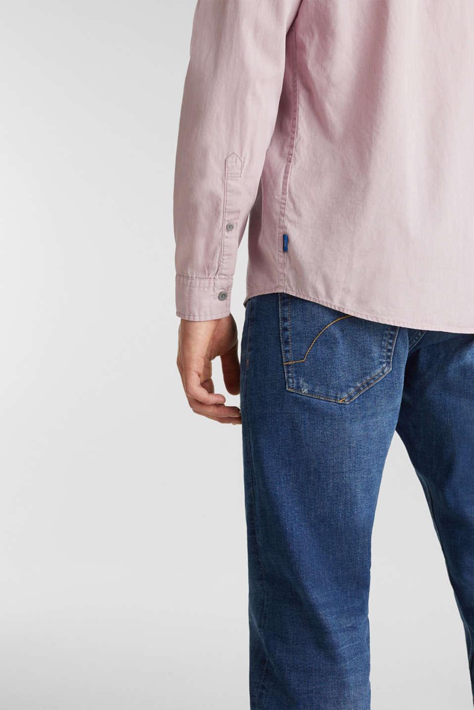 100% cotton shirt, PURPLE 3, detail image number 5