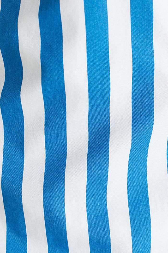 Striped shirt, 100% cotton, BLUE, detail image number 4