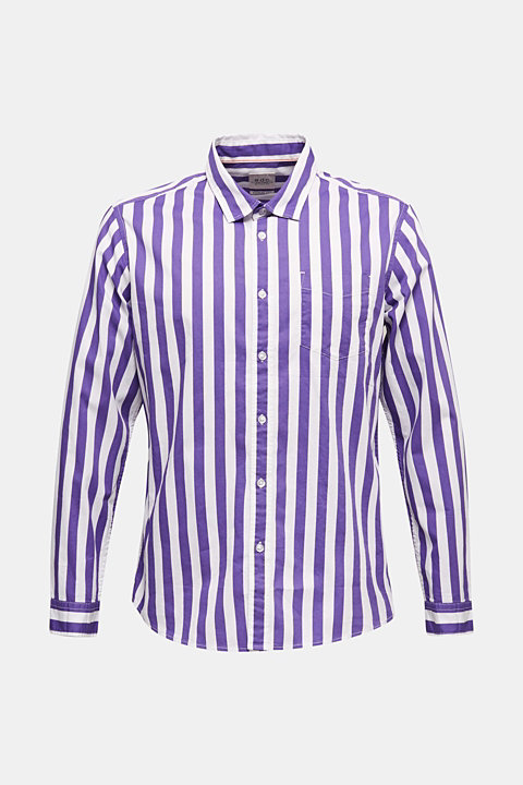 Striped shirt, 100% cotton