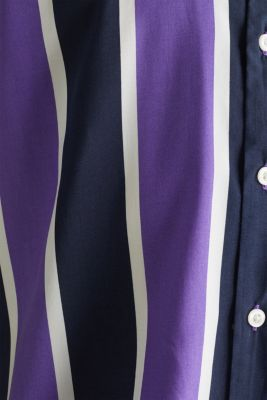 Bowling shirt with a Cuban collar, PURPLE 3, detail