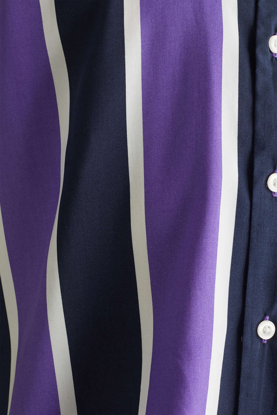 Bowling shirt with a Cuban collar, PURPLE 3, detail image number 3