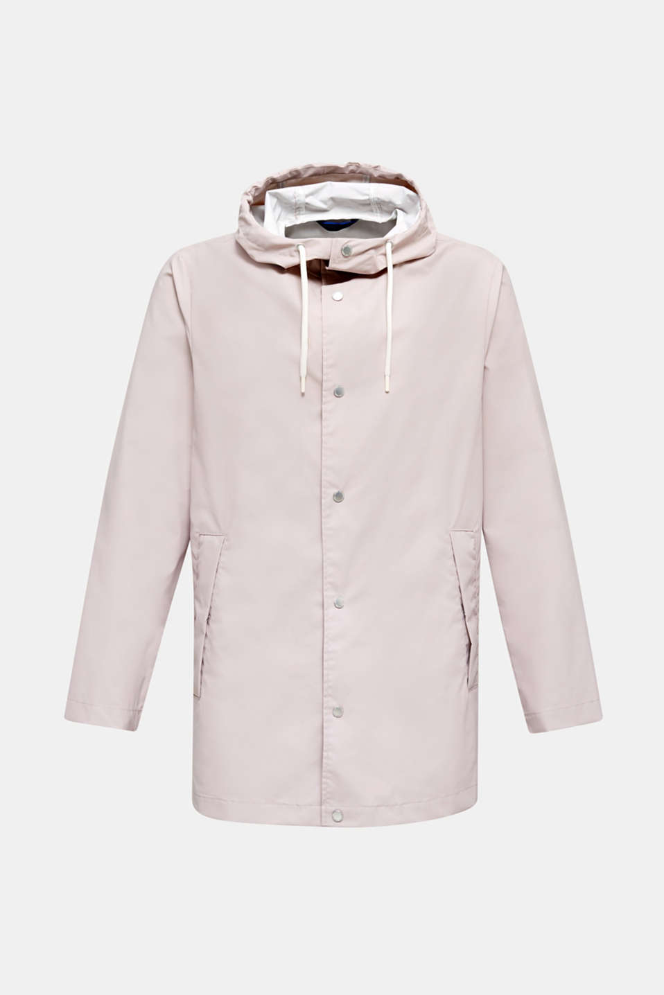 Rain jacket with hood, LIGHT PINK, detail image number 6