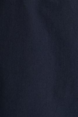 100% cotton hoodie, DARK BLUE, detail