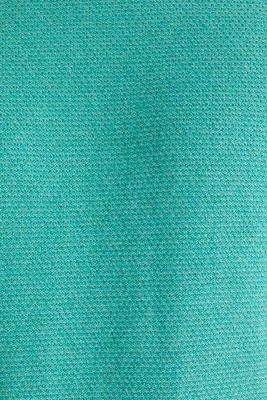 Textured jumper made of 100% cotton, LIGHT AQUA GREEN 5, detail
