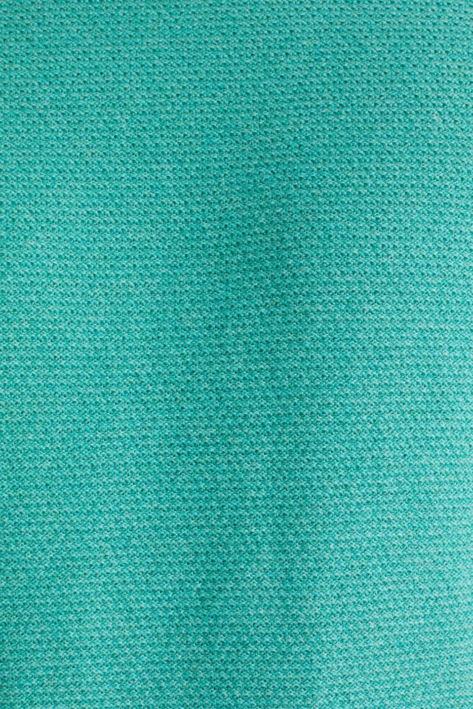 Textured jumper made of 100% cotton, LIGHT AQUA GREEN 5, detail image number 4
