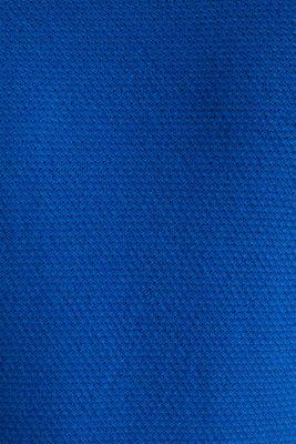 Textured jumper made of 100% cotton, BLUE 5, detail