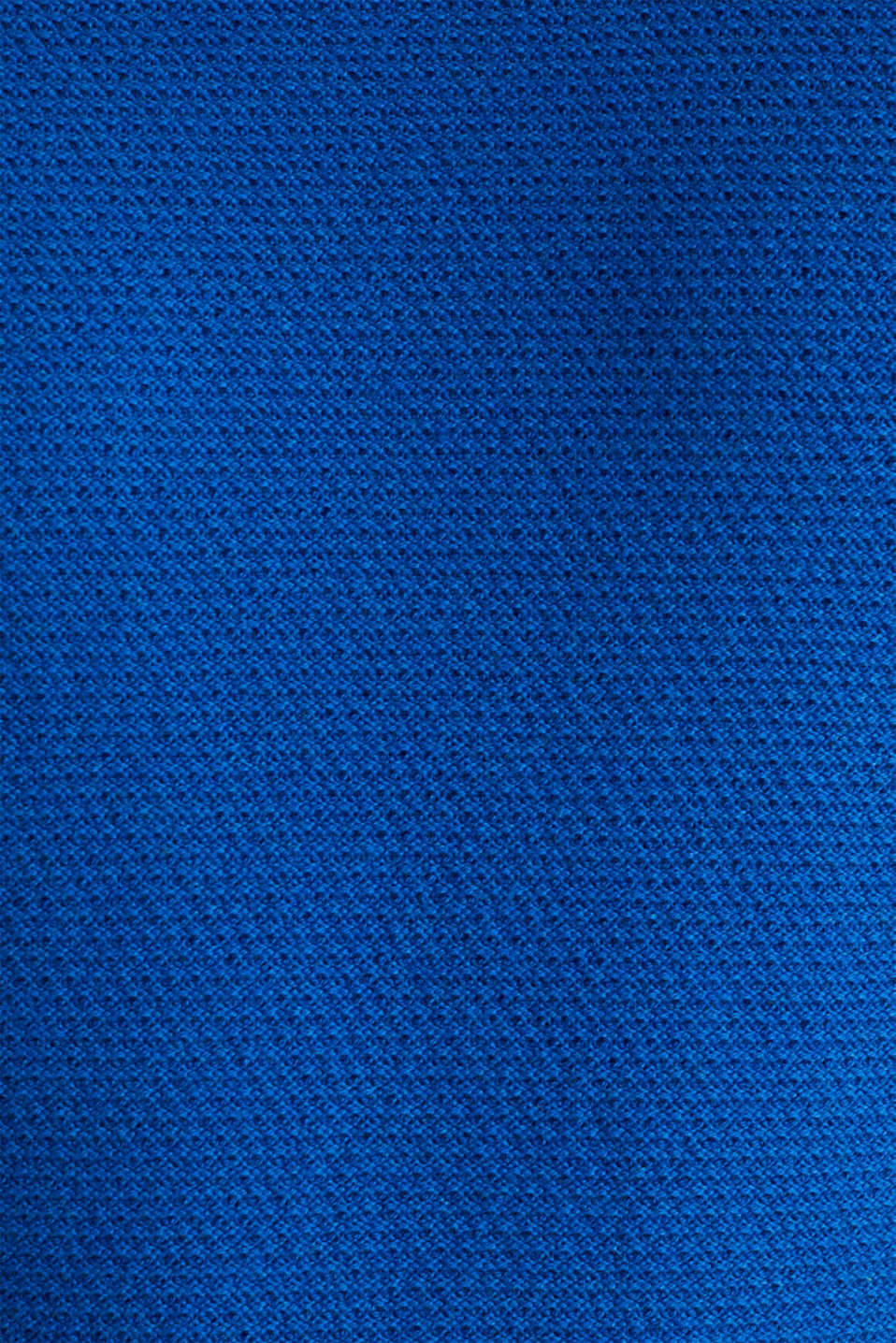 Textured jumper made of 100% cotton, BLUE 5, detail image number 4