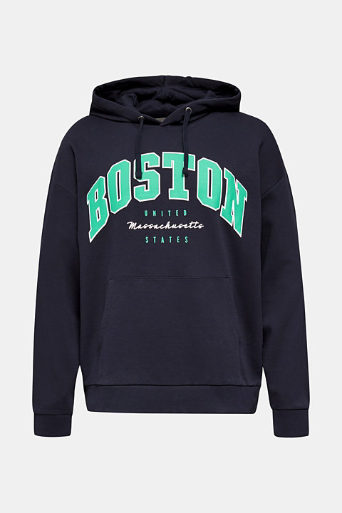 Oversized hoodie in 100% cotton