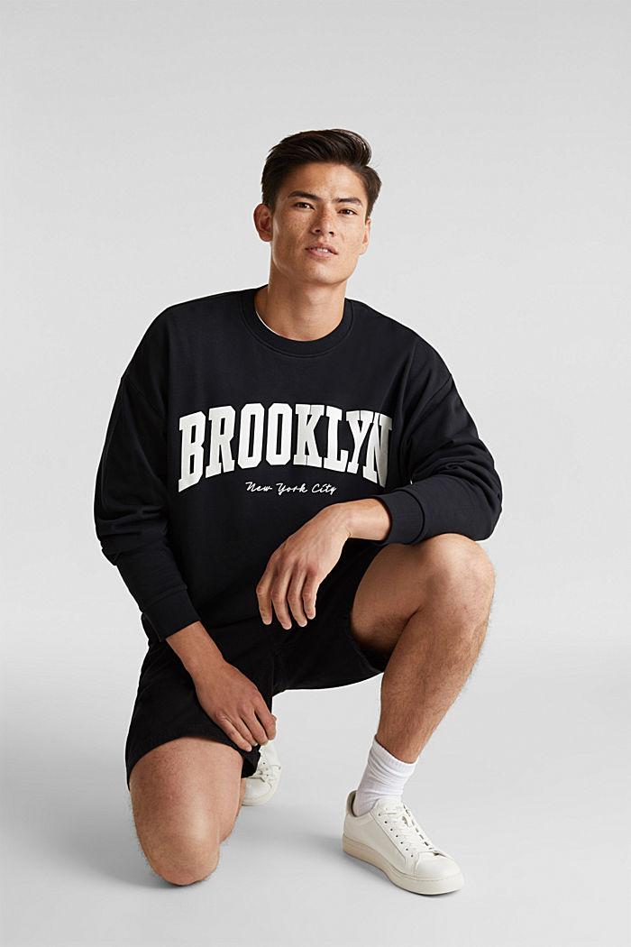 Print-Sweatshirt, 100% Baumwolle