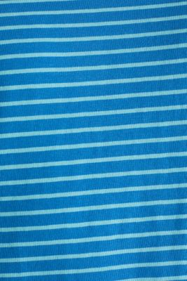 Jersey T-shirt with stripes, 100% cotton, BLUE 3, detail