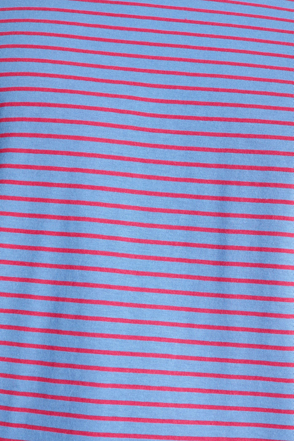 Jersey T-shirt with stripes, 100% cotton, LIGHT BLUE 3, detail image number 4