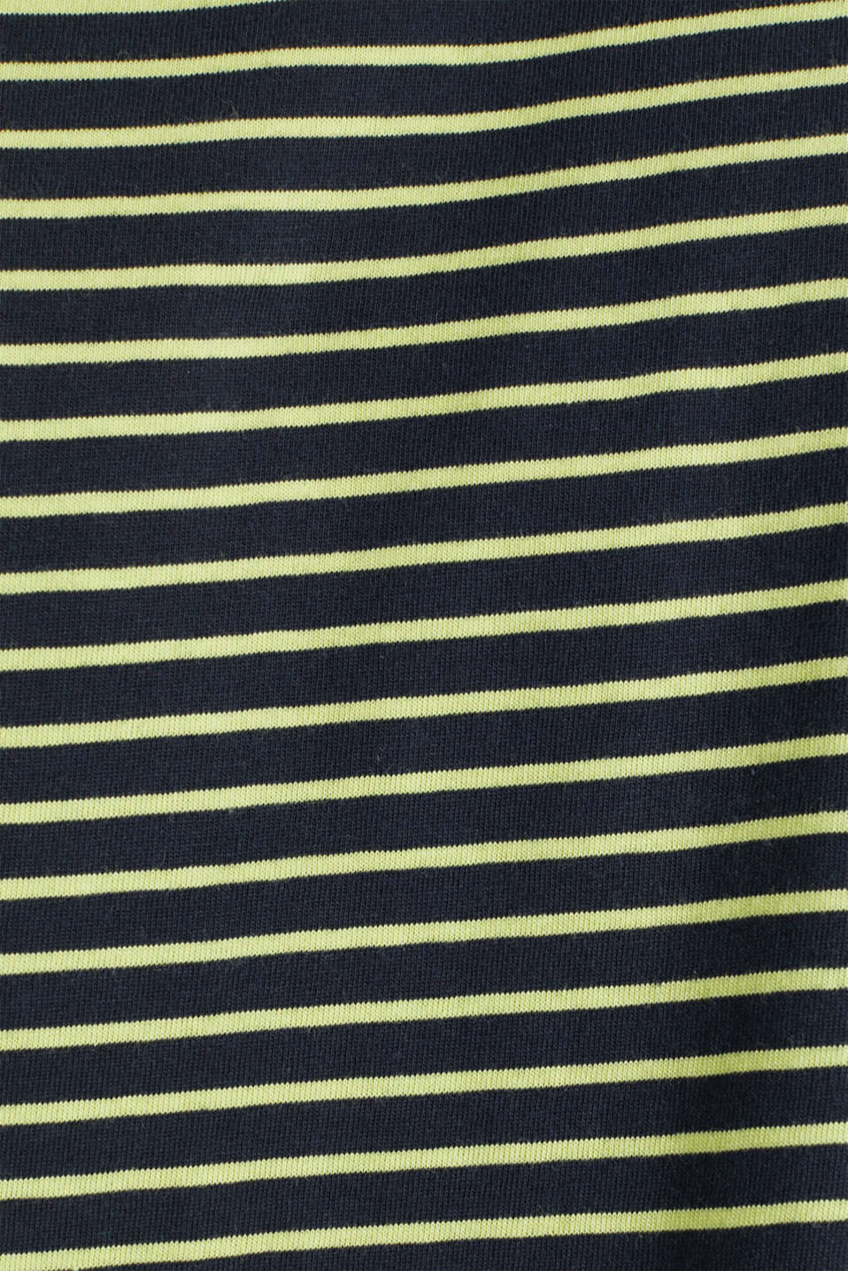 Jersey T-shirt with stripes, 100% cotton, BRIGHT YELLOW 3, detail image number 4