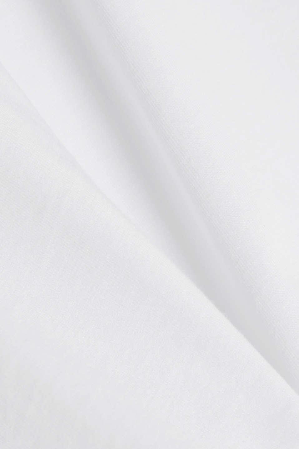 Jersey logo T-shirt, 100% cotton, WHITE, detail image number 4