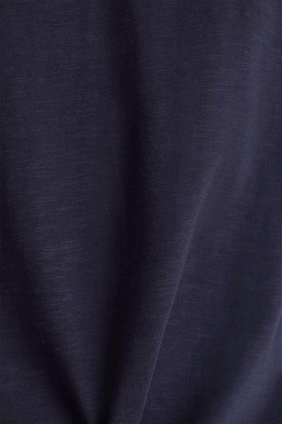 Layered jersey top with a hood, 100% cotton, NAVY 2, detail image number 5