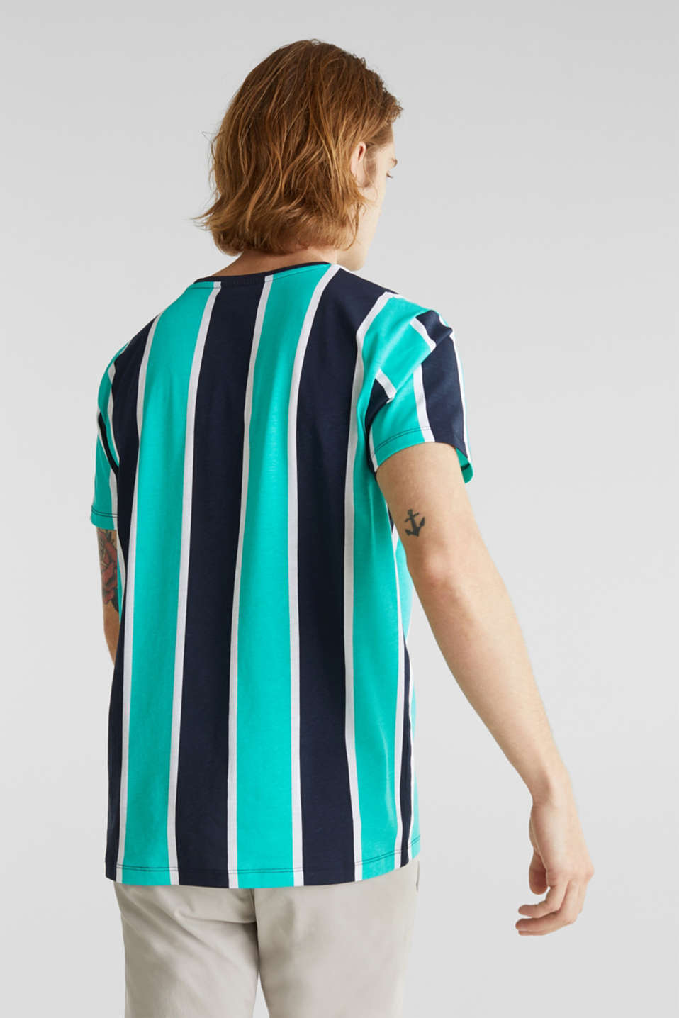 Jersey T-shirt in 100% cotton, AQUA GREEN 3, detail image number 3