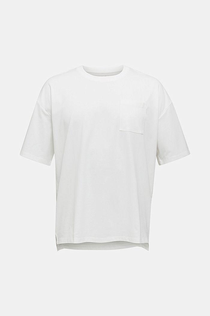 Oversize-T-shirt i bomullsjersey
