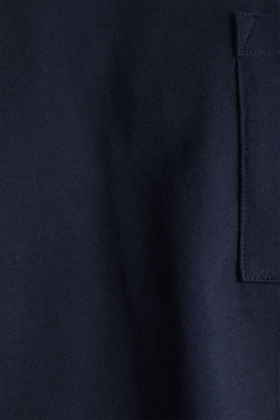 Oversized top in cotton jersey, NAVY, detail image number 4